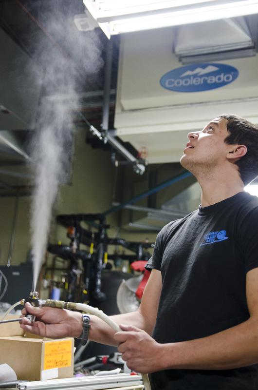 Air Nozzle test